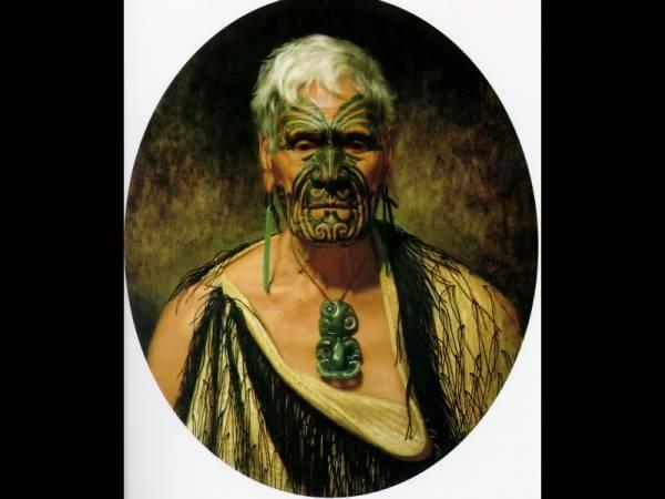 Te Aho a noted Waikato warrior 1902 635x54cm